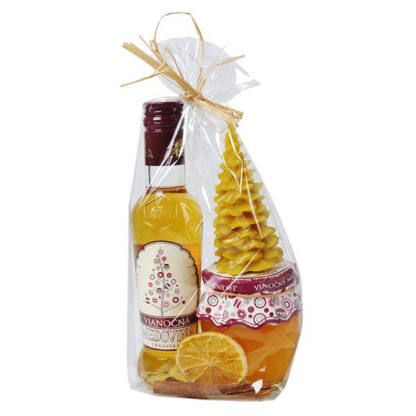 Vianočný medový set - S malý