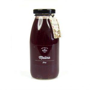 Malinový sirup