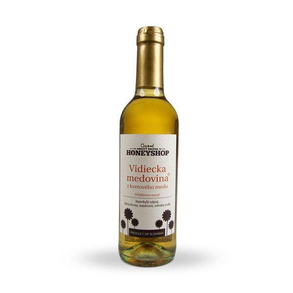 Vidiecka medovina z kvetového medu 350 ml