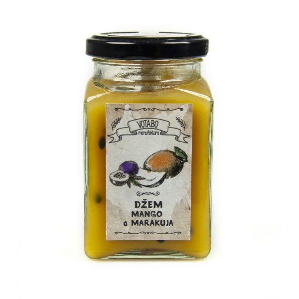 Džem mango a marakuja