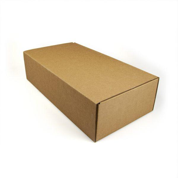 Darčeková krabica z otv. vlnitej lepenky