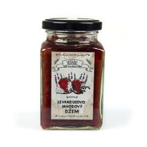 Levanduľovo - jahodový džem