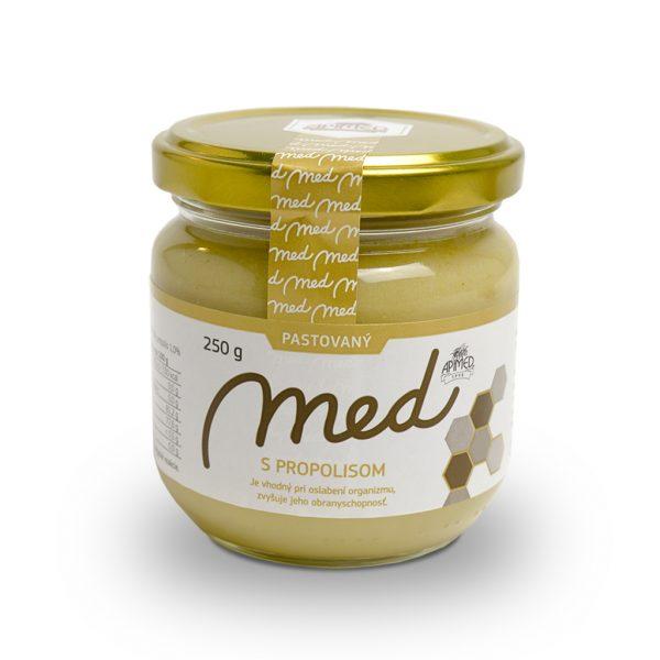Pastovaný med s propolisom 250 g