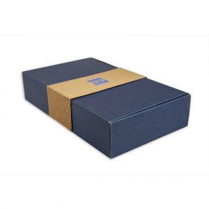 Darčeková krabica gastro exkluzív, modrá