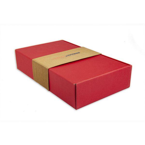 Darčeková krabica gastro exkluzív, červená