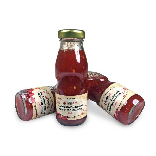 Zázvorovo - medová habanero omáčka ladies - jemne pálivá