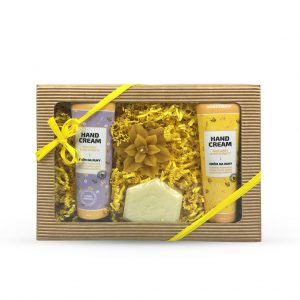 Veľká kozmetická krabička - žltá