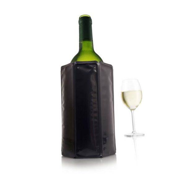 """Chladič na víno manžetový """"Black"""" - Vacu Vin"""