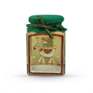 Maľovaný pohár s agátovým medom 330 g - sobík