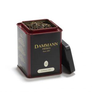 Dammann Fréres La Boite Yunnan Vert N°12, 100 g