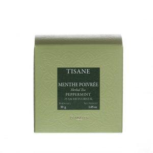 Dammann Fréres Sachets Box Tisane Menthe Poivrée - pepermint, 25 x 1,2 g