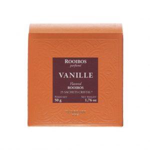 Dammann Fréres Sachets Box Rooibos Vanille, aromatizovaný, 25 x 2 g