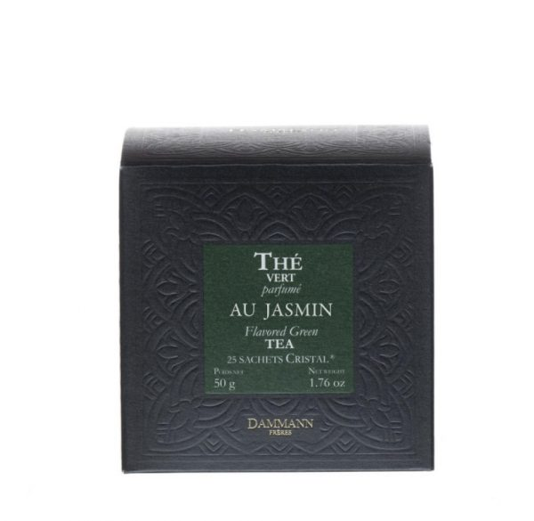 Dammann Fréres Sachets Box Jasmin, aromatizovaný, 25 x 2 g