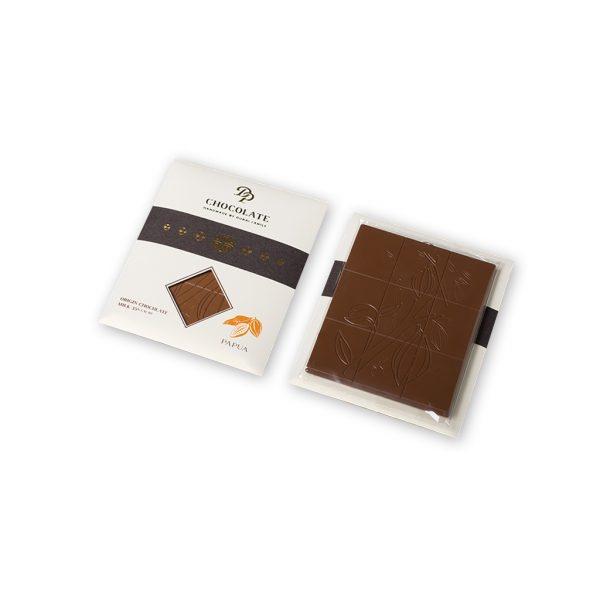 Tabuľková čokoláda Basic Organic mliečna Papua 35%