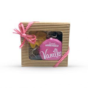 Krabička vanilkový med