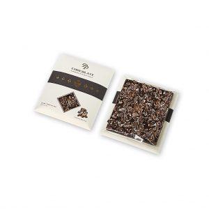Tabuľková čokoláda Basic horká s kakaovým bôbom