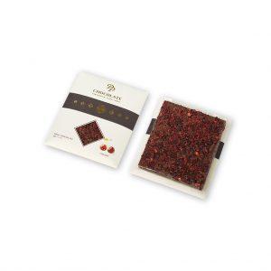Tabuľková čokoláda Basic mliečna s višňami