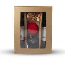 Darčeková krabička s dvoma vínami 350 x 260 x 112 mm