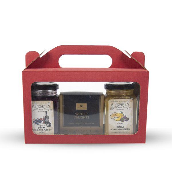 Darčeková krabička s úchytkou 225 x 67 x 130 mm