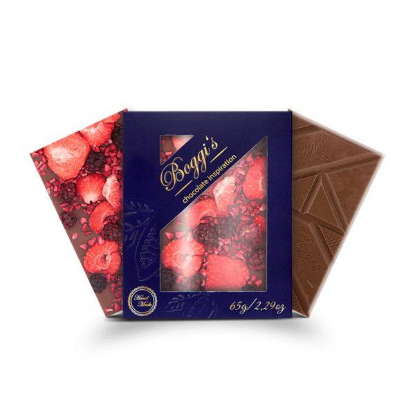 Mliečna čokoláda Strawberry dream
