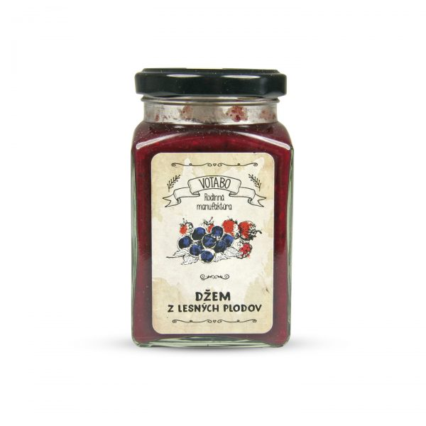 Džem z lesných plodov